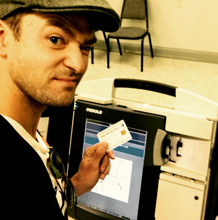 Justin Timberlake Could Face Jail Time Due to Voting Booth Selfie