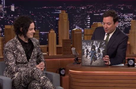 "Jack White ""Lazaretto"" / ""Just One Drink"" (live on 'Fallon')"