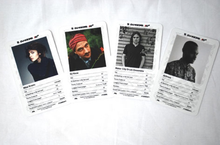 Four Tet, Actress, DJ Koze Get Their Own DJ Trading Cards