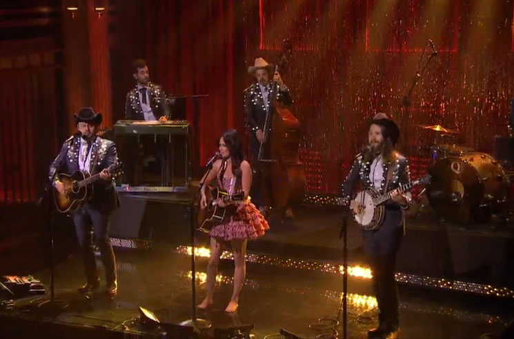 "Kacey Musgraves ""Biscuits"" (live on 'Fallon')"