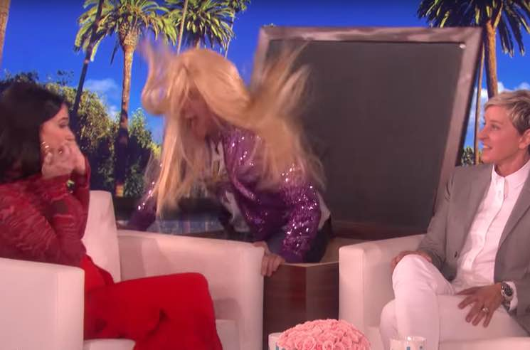 ​Kacey Musgraves Got Scared By Hannah Montana on 'Ellen'