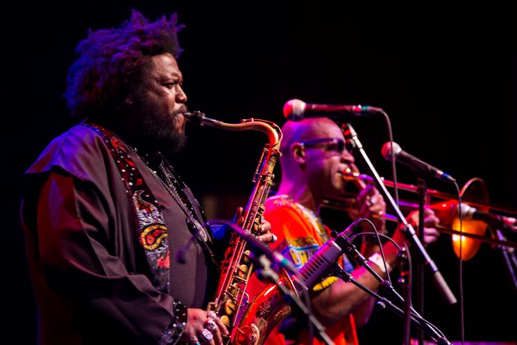 Kamasi Washington Danforth Music Hall, Toronto ON, June 17