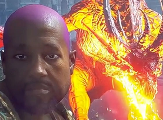 Kanye West Now Lives Inside PS5's 'Demon's Souls'