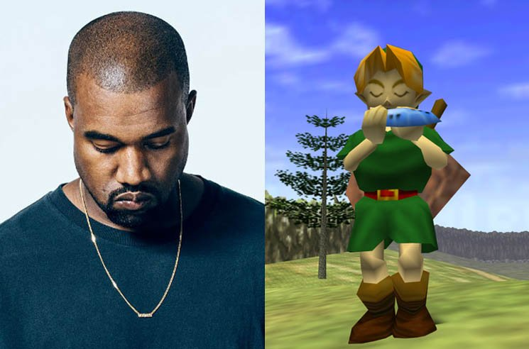 Kanye West Accused of Ripping Off 'Zelda' Theme Song