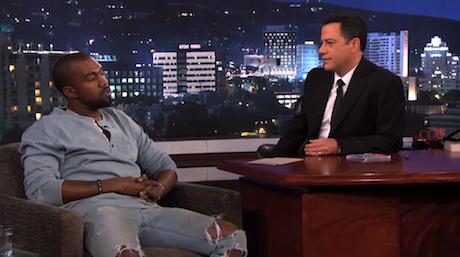 Kanye West Discusses Twitter Meltdown, Fashion Aspirations on 'Kimmel'