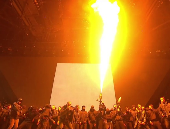 Kanye West 'All Day' (live at the BRIT Awards)