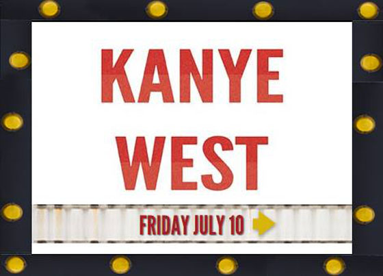Kanye West to Play Ottawa's RBC Bluesfest
