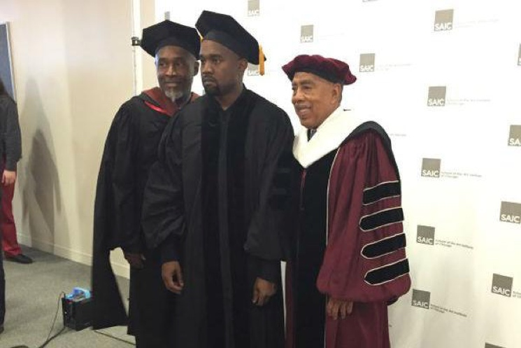 College Dropout Kanye West Gets a Degree