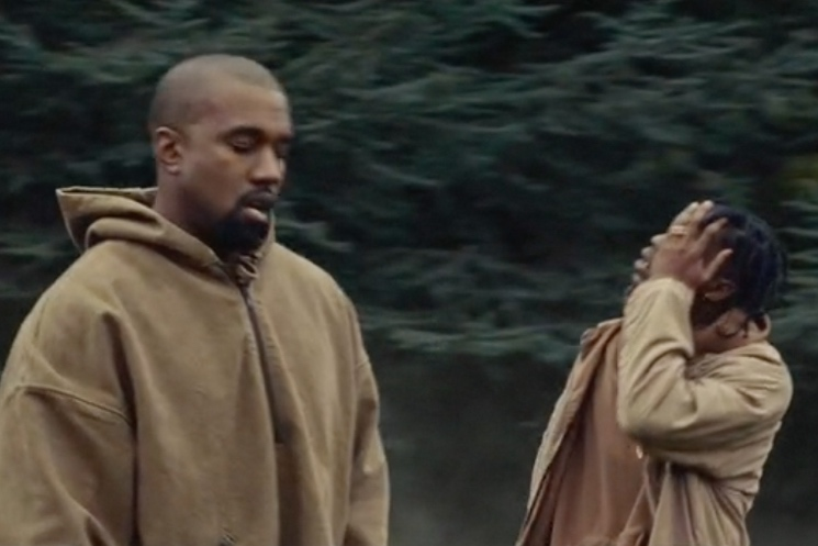 "Travis Scott ""Piss on Your Grave"" (ft. Kanye West) (video)"
