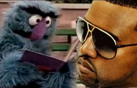 Kanye West 'Monster' vs. <i>Sesame Street</i> (video)