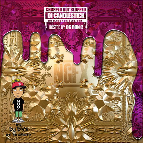 Kanye West & Jay-Z 'Chop the Throne' mixtape