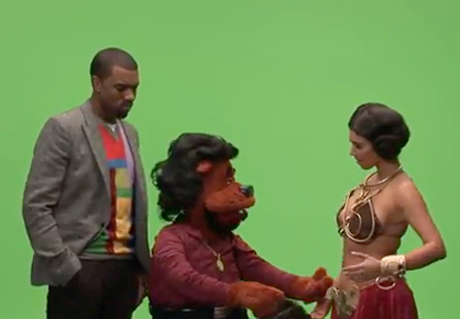 Kanye West 'Alligator Boots' (failed Comedy Central puppet show)