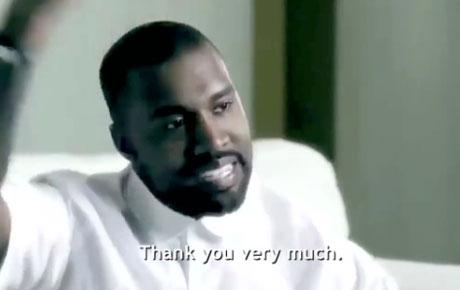 Kanye West and Rick Rubin Accept Award for 808 Drum Machine via Bizarre Video