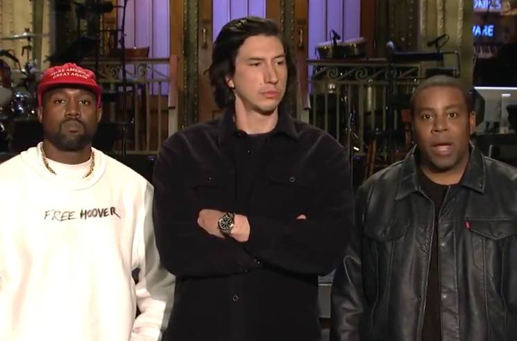 ​Chris Evans, Lana Del Rey, Taran Killam Denounce Kanye West's Trump Rant on 'SNL'