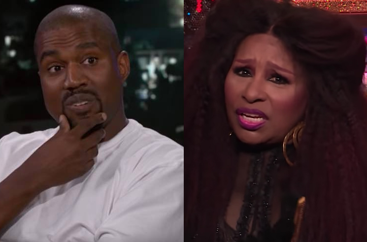 Chaka Khan Thinks Her Sample on Kanye West's 'Through the Wire' Is 'Stupid'
