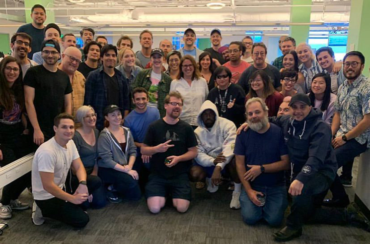 Kanye West Hangs Out with the 'Rick and Morty' Crew in Epic Photo