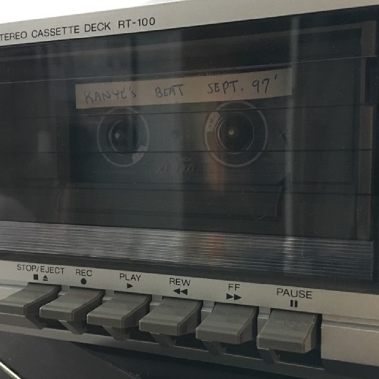 Kanye West Beat Tape from the '90s Surfaces Online