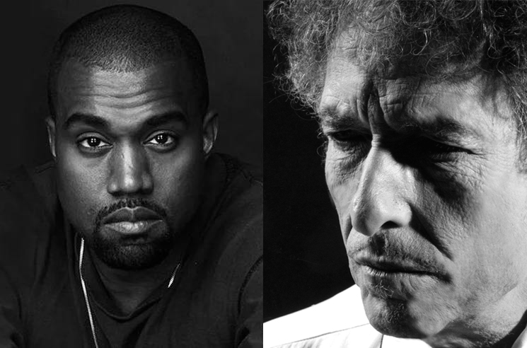 "Kanye West Wants to ""Get Together"" with Bob Dylan"