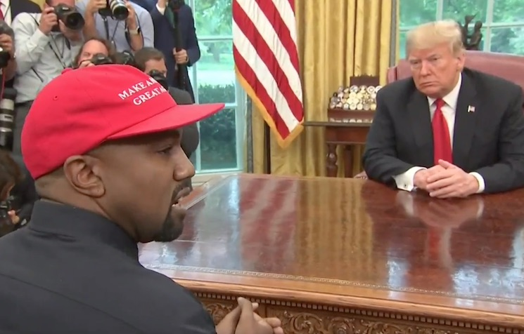 You Can Watch Kanye West Talk to Donald Trump for 10 Minutes If You're into That Sort of Thing