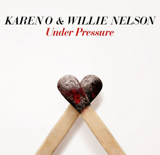 Hear Karen O and Willie Nelson Cover Bowie and Queen's Classic 'Under Pressure'