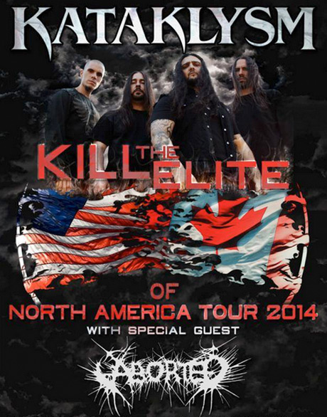"Kataklysm and Aborted Bring ""Kill the Elite"" Tour Across North America"