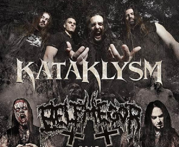 Kataklysm Announce North American Tour with Belphegor