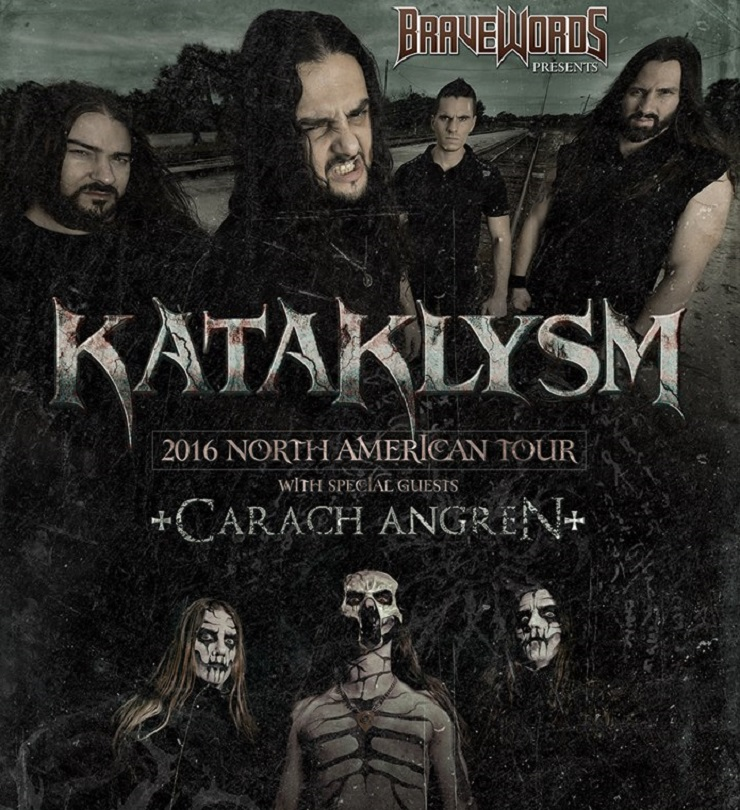 Kataklysm Take 'Of Ghosts and Gods' on More North American Dates