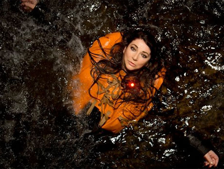 Kate Bush's House in Danger of Falling into the Ocean