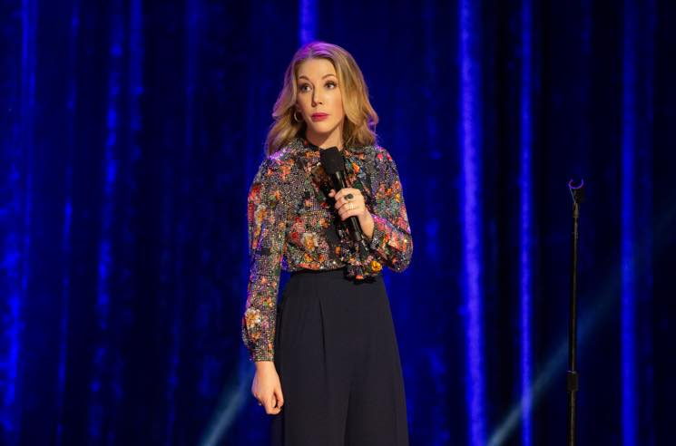 ​Katherine Ryan's Boyfriend Chased Down a Burglar Who Stole Her Laptop Filled with Netflix Scripts