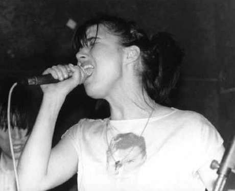 Kathleen Hanna 'Smells Like Teen Spirit' / 'Rebel Girl' (live)