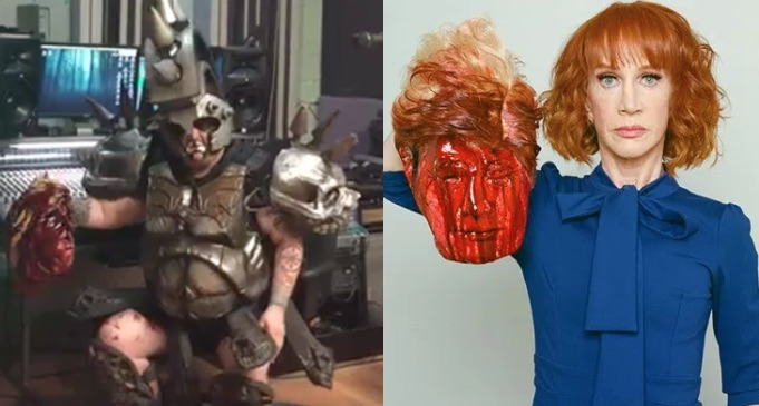 "Gwar Respond to Kathy Griffin's Trump Beheading Photo: ""You Comedians Have Got to Stop Stealing Bits"""