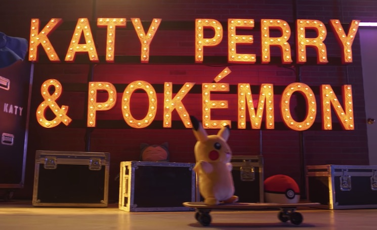 Katy Perry Is Collaborating with Pokémon