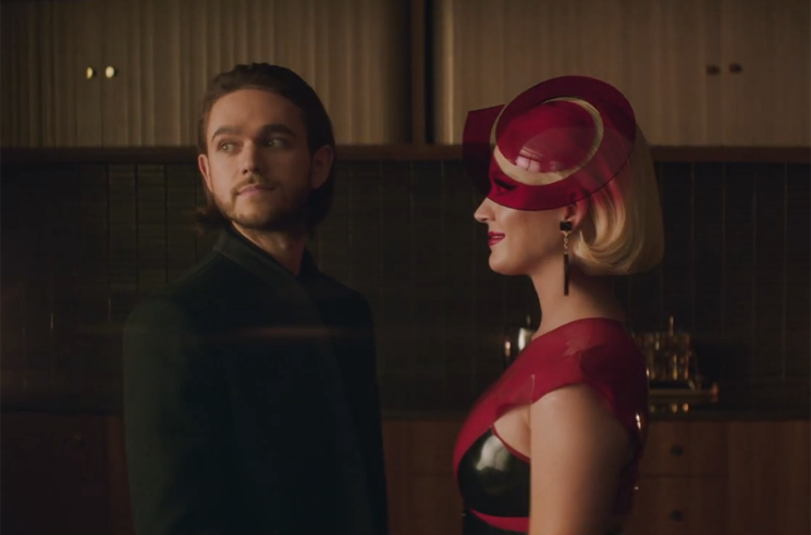 "Katy Perry and Zedd Experiment with AI Romance in ""365"" Video"