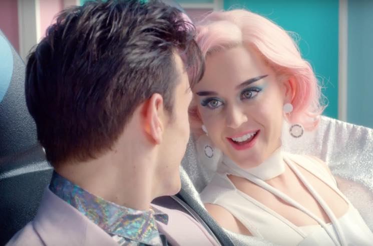 Katy Perry Visits Dystopian Theme Park in 'Chained to the Rhythm' Video