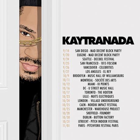 Kaytranada Books North American Fall Tour
