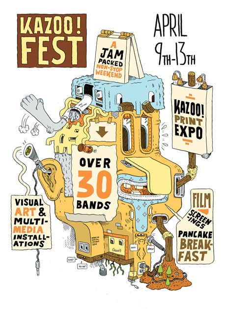 Destroyer, Bry Webb, Nihilist Spasm Band Heading to Guelph's Kazoo! Fest