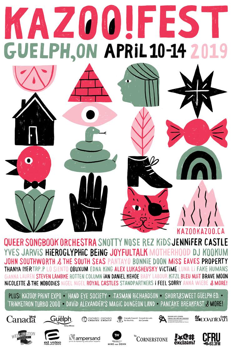 Guelph's Kazoo! Fest Unveils 2019 Lineup