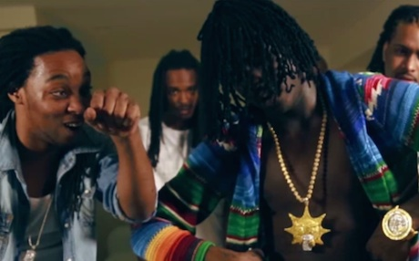 "Chief Keef ""Gucci Gang"" (ft. Justo and Tadoe) (video)"