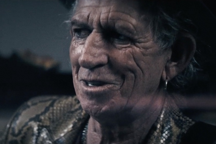 Keith Richards 'Trouble' (video)