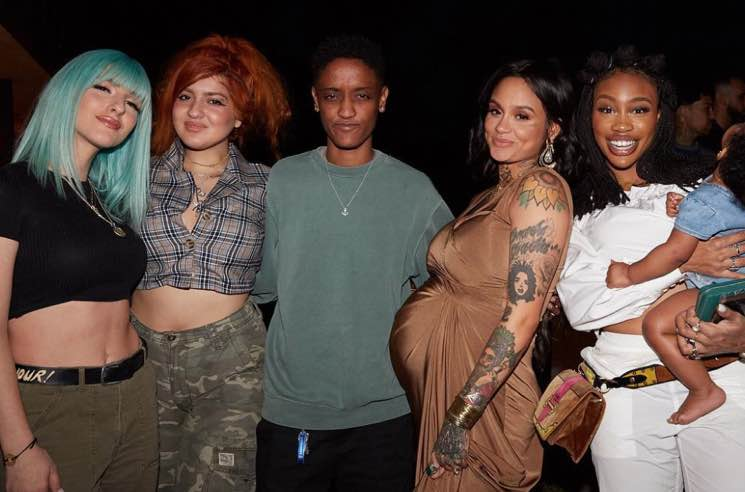 Kehlani Shares Photos from Her Baby Shower
