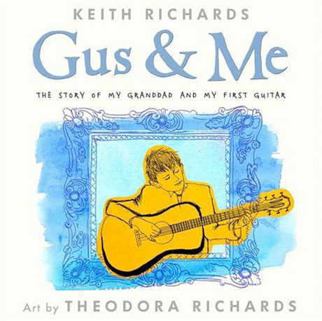 Keith Richards Pens Illustrated Children's Book About His Grandfather