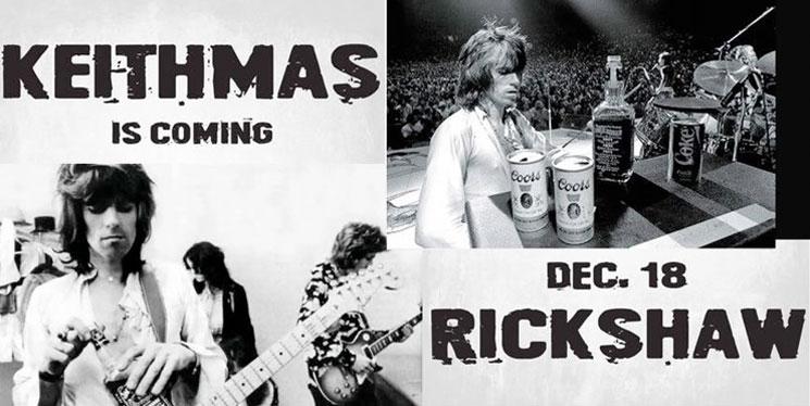 Vancouver Christmas Fundraiser Raffling Keith Richards' Pants