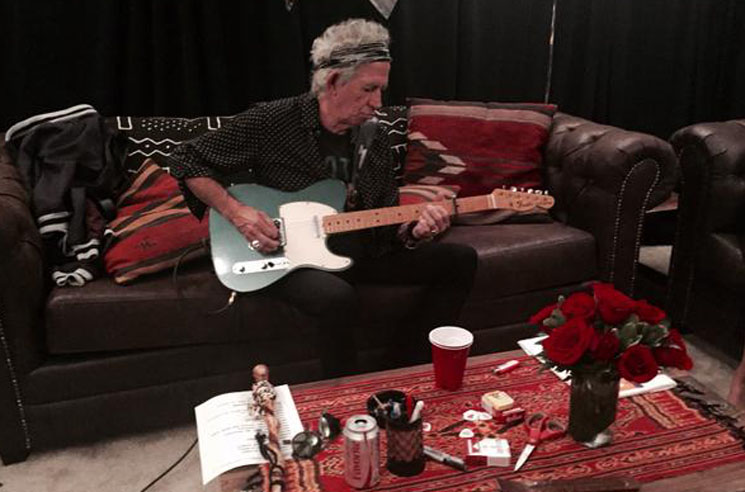 Keith Richards Announces 'Crosseyed Heart' Solo LP