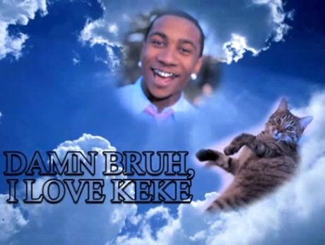 """KeKe the Adopted Tabby Cat """"MAKES HISTORY! FIRST ANIMAL IN HIP HOP!"""" (ft. Lil B)"""