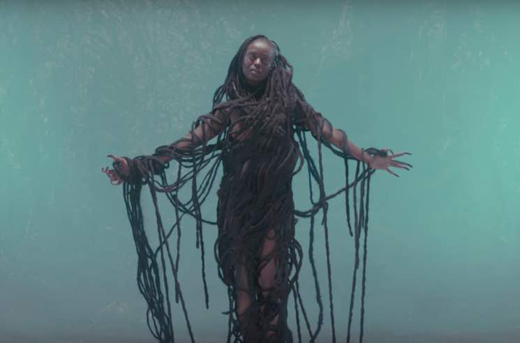 "Kelela ""Blue Light"" (video)"
