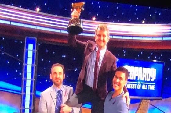 "Ken Jennings Declared ""Greatest of All Time"" on 'Jeopardy!'"