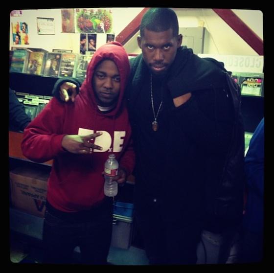 """Flying Lotus """"Eyes Above"""" (ft. Kendrick Lamar)"""