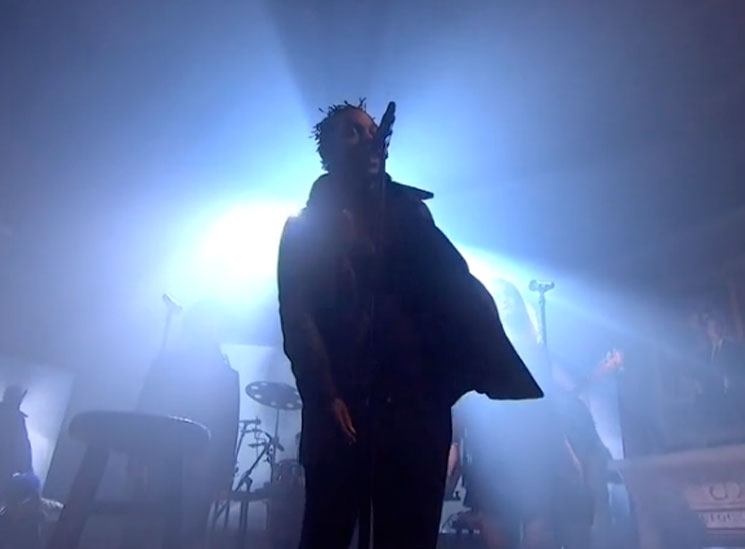 Kendrick Lamar Live on 'Colbert Report'
