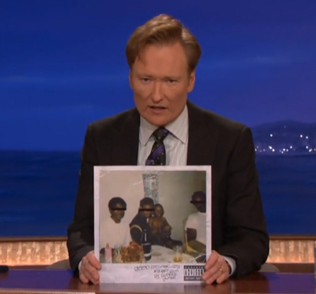 "Kendrick Lamar ""Swimming Pools (Drank)"" (live on 'Conan')"