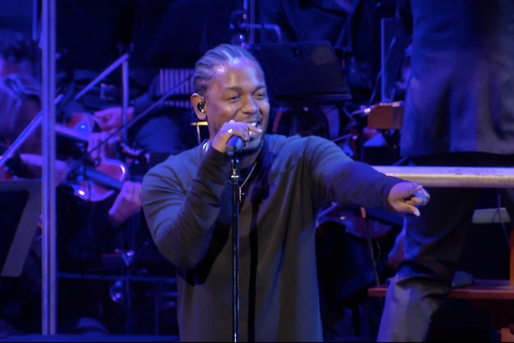 Kendrick Lamar Live with National Symphony Orchestra (videos)